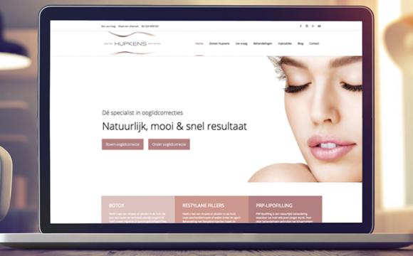 Vernieuwde website Dokter Hupkens Esthetiek!