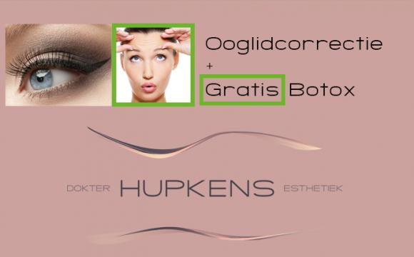 Gratis Botox behandeling bij ooglidcorrectie